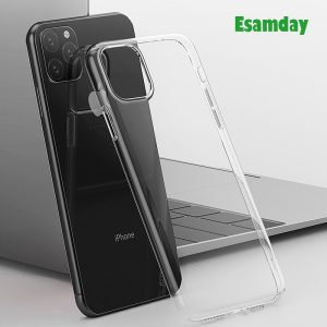 Luxury Clear Soft TPU Case For iPhone 11 Pro Max 7 8 6 6s Plus 7 8 Plus X XS MAX XR Transparent