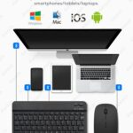 Bluetooth Keyboard for Tablet / Phone With Touchpad