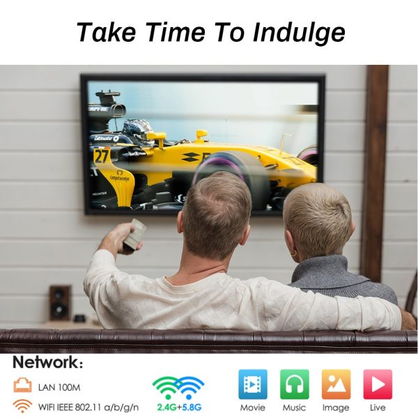 Transpeed Android 10 TV BOX 2.4G&5.8G Wifi 32G 64G 128G 4k 3D Bluetooth TV receiver