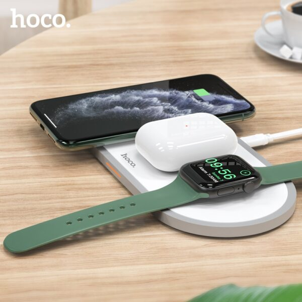 HOCO 3 in1 Wireless Charger for iphone 11 Pro X XS Max XR for Apple Watch 5 4 3 2 Airpods