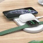 HOCO 3 in1 Wireless Charger for iPhone Apple Watch Airpods