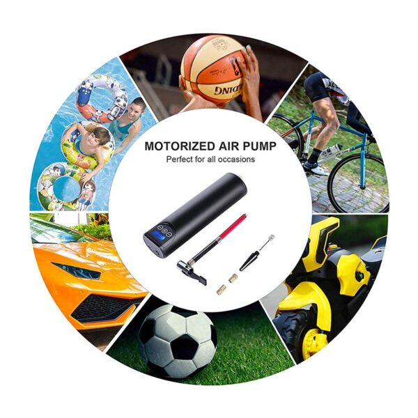 12V 150PSI Rechargeable Air Pump Tire Inflator Cordless Portable Compressor Digital