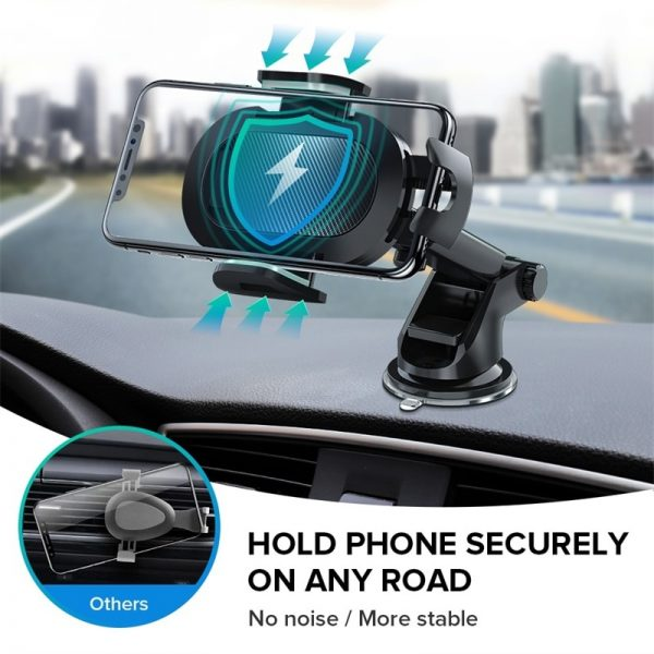 INIU Sucker Car Phone Holder Mount Stand GPS Telefon Mobile Cell Support