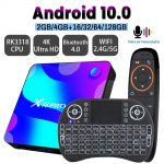 Transpeed Android 10 TV BOX 4k 3D Bluetooth TV receiver
