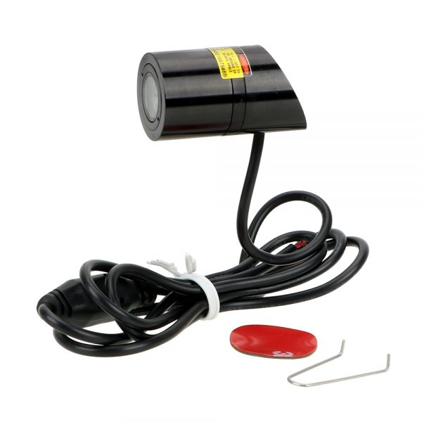 FORAUTO Car LED Projection Light Warning Laser Tail Logo Projector Auto Brake Parking