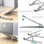 Adjustable Anti-Slip Aluminum Laptop Holder