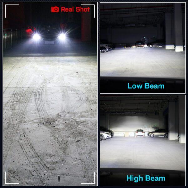 2Pcs H1 H3 H4 H7 Led Canbus H8 H11 HB3 9005 HB4 9006 Led Headlights Mini 100W 16000LM
