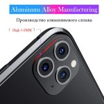 Modified Metal Sticker Seconds Change Camera For iPhone