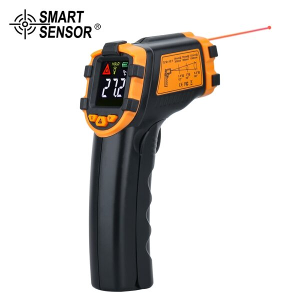 Digital Infrared Thermometer Laser Temperature Meter Non-contact Pyrometer Imager