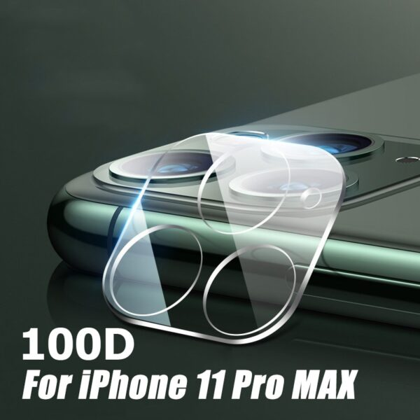 100D Camera Protection Glass For iPhone 11 12 Pro XS Max XR X Full Cover Lens Screen