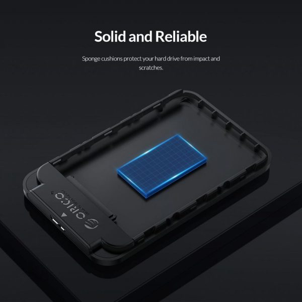 ORICO 2.5 Inch HDD Case SATA 3.0 to USB 3.0 5 Gbps 4TB HDD SSD Enclosure Support UASP