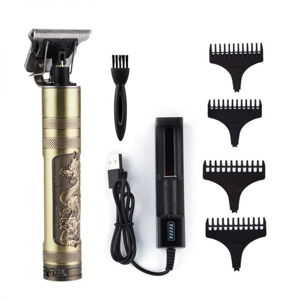USB Rechargeable T9 Baldheaded Hair Clipper Electric hair trimmer Cordless Shaver