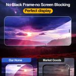 Full Cover Tempered Glass 4Pcs For iPhone