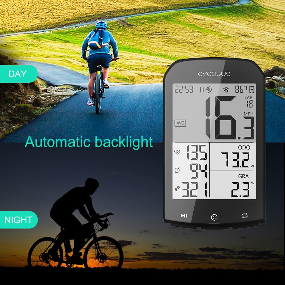 CYCPLUS M1 GPS Bike Computer Speedometer Ciclocomputador