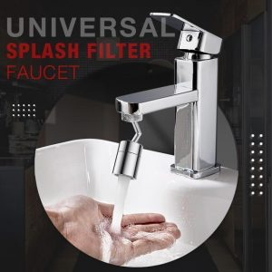 720° Universal Splash Filter Faucet Spray Head Anti Splash Filter Faucet Children