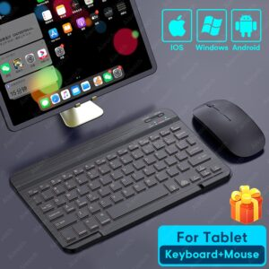 Tablet Wireless Keyboard For iPad Pro 2020 11 12.9 10.5 Teclado, Bluetooth Keyboard