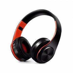 New Portable Wireless Headphones Bluetooth Hi-Fi Stereo Foldable Headset