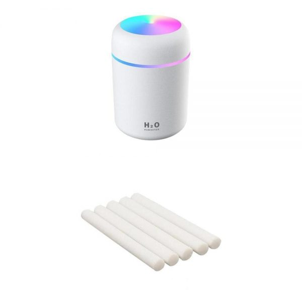 Portable Air Humidifier 300ml Ultrasonic Aroma Essential Oil Diffuser USB Cool Mist Maker Purifier Aromatherapy for Car Home