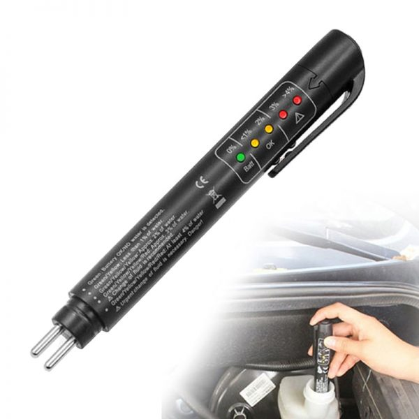 Accurate Oil Quality Check Pen Universal Brake Fluid Tester Car Brake Liquid Digital