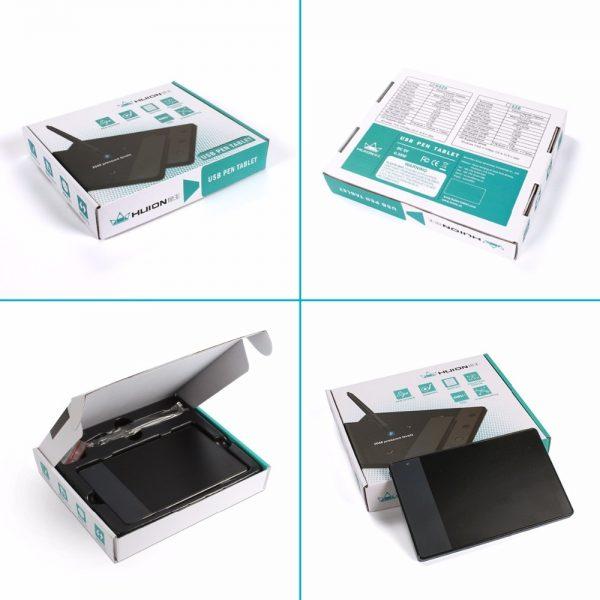 Original HUION 420 4-Inch Digital Tablets Mini USB Signature Pen Tablet Graphics