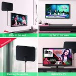 Kebidumei 4K High Gain HD DTV Box Digital TV Antenna