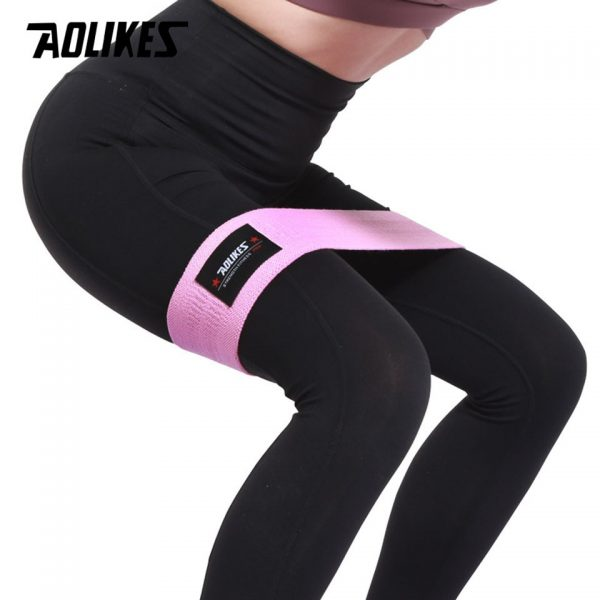 AOLIKES Unisex Booty Band Hip Circle Loop Resistance Band Workout Exercise
