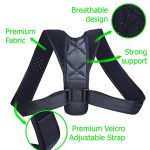 YOSYO Brace Support Belt Adjustable Back Posture Corrector Clavicle Spine Back