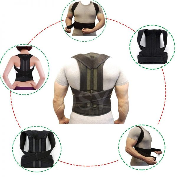 Posture Corrector for Men and Women Back Posture Brace Clavicle Support Stop