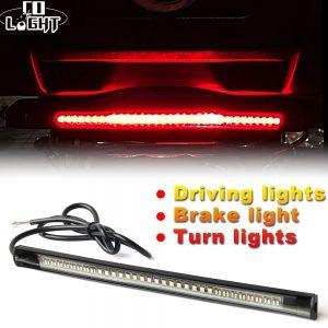 CO LIGHT Universal Led Strip 48Leds Flexible Stop Running Light DC 12V 1Piece