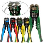 Crimper Cable Cutter Automatic Wire Stripper Multifunctional