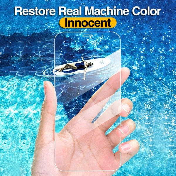 4Pcs Full Cover Tempered Glass For iPhone 11 Pro X XR XS MAX 12 Pro Max Mini Screen Protector For iPhone 6 7 8 Plus Glass film