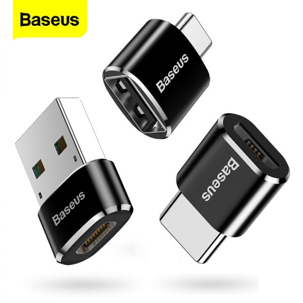 Baseus USB Type C OTG Adapter USB C Male To Micro USB Female Cable Converters
