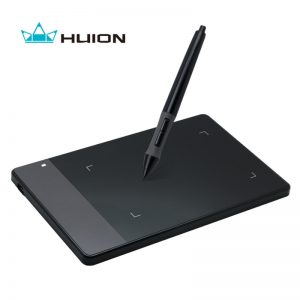 Original HUION 420 4-Inch Digital Tablets Mini USB Signature Pen Tablet Graphics (Black)