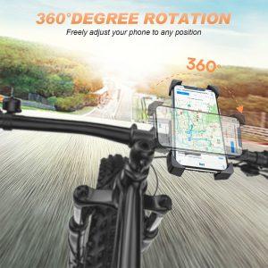 Bike Phone Holder Universal Motorcycle Bicycle Phone Holder Handlebar