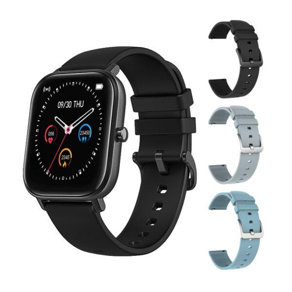 SENBONO IP67 Waterproof P8 Smart Watch Wristband Men Women Sport Clock Heart Rate