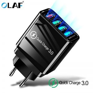 48W Quick Charger 3.0 USB Charger for Samsung A50 A30 iPhone 7 8 Xiaomi mi9 Tablet QC 3.0
