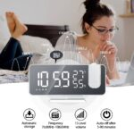 FM Radio LED Digital Smart Alarm Clock Watch