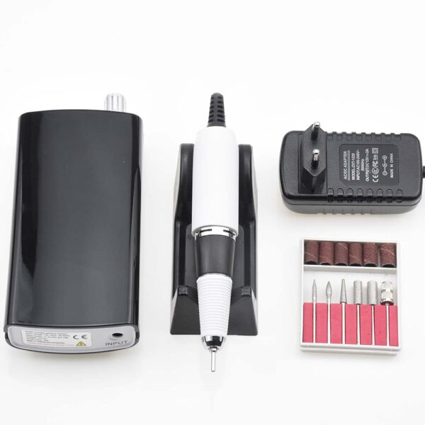 Portable Rechargeable Nail Drill Machine 36W 35000RPM Manicure Machine Electric