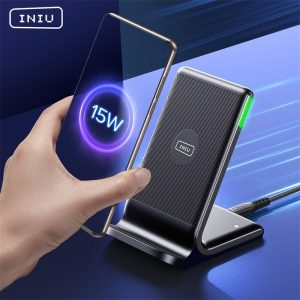 Qi Wireless Charger INIU 15W USB C Fast Phone Charge Pad