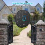 Home Security Wireless Doorbell Smart Alarm LED