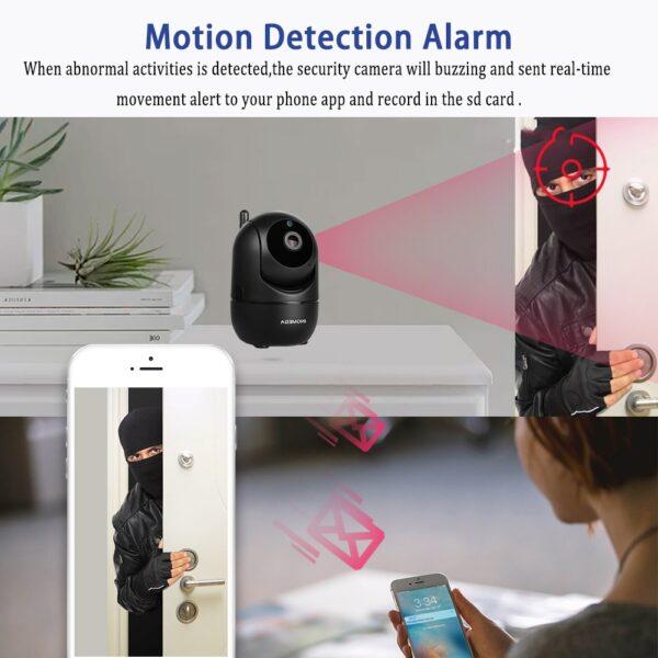 INQMEGA HD 1080P Cloud Wireless IP Camera Intelligent Auto Tracking Of Human Home