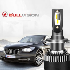 BULLVISION H11 H4 H7 Led 12V Mini 9005 9006 Headlights Lamp 20000Lm High Bulbs Turbo