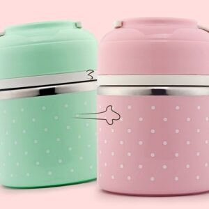 WORTHBUY Cute Japanese Lunch Box For Kids Portable