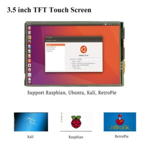 Raspberry Pi 4 Model B 3.5 Inch Touch Screen 480*320 TFT LCD Display with Touch Pen