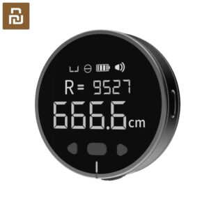 Youpin DUKA Little Q Electronic Ruler Tape Curved Surface Measuring Ruler HD LCD Screen (Black)