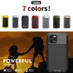 Heavy Duty Protection Armor Metal Aluminum for iPhone