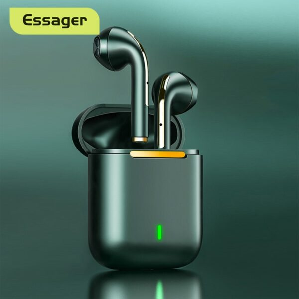 Essager J18 TWS Bluetooth Headphones Stereo True Wireless Headset Earbuds