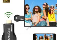 Anycast M2 Plus TV Stick WiFi Display Dongle Receiver For Miracast AirPlay 2.4G+5G