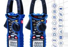 Digital Clamp Meter Multimeter Auto Range A-BF CS206B/CS206D Current Voltage Temp