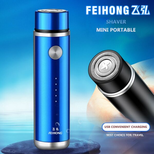 Mini Electric Shaver for Men Portable Electric Razor Beard Knife USB Charging Men's Shavers